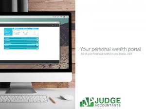 Judge Personal Wealth Portal