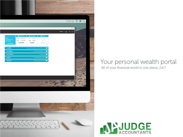 Judge Personal Wealth Portal