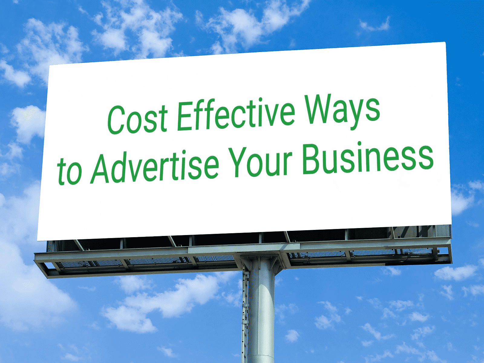 Tips on Effective Business Advertisment